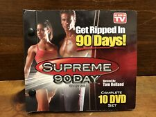 Get Ripped In 90 Days Supreme 90 Day System 10 DVD Set As Seen On TV Workout VGC