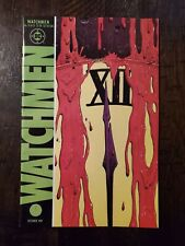 Watchmen #12 1987 Ungraded (Last Issue In Series) Death Of Rorschach! Alan Moore