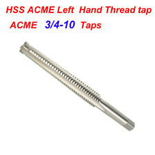 1pc Hss Acme 34 10 Left Hand Thread Tap Cnc Metalworking Amp Manufacturing Parts