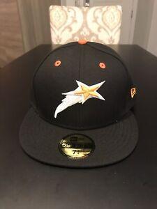 Huntsville Stars New Era 5950 Fitted Hat Cap Size 7 1/4 NWT MiLB Rare Custom