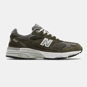 NWB New Balance Mens Made in US 993 Military Green Standard D FREE SHIPPING
