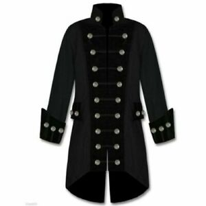 Gothic Gothik Mantel Jacke Coat Größe M NEU