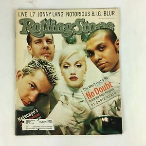 May 1997 Rolling Stone Magazine No Doubt Jonny Lang Notorious B.I.G Blur