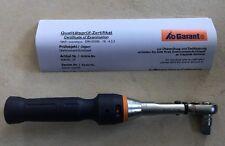 Drehmomentschlüssel Garant wie Hazet (5-25Nm) NEU & OVP mit Kalibrierzertifikat