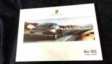 """Porsche 2017 Hardcover Prospekt Buch """"der 911"""" Tradition. Zukunft."""