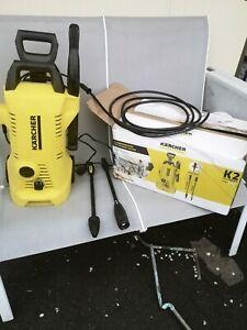 Karcher K2 Full Control Pressure Washer fully working .2 lance.gun.hose incloude