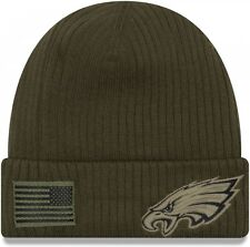 e65030b19963 New Era - NFL Philadelphia Eagles On Field Salute to Service 2018 Knit Cuff  Bean
