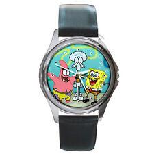 SpongeBob SquarePants Leather Wrist Watches New