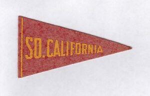 Southern California vintage 1936-38 BF3 mini felt college football pennant