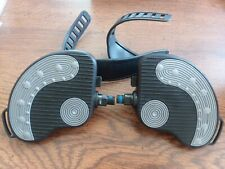 """BIKE Pedals Pair 1/2"""" w/Straps 
