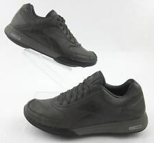 Reebok Easytone Walking Fitness Shoes Brown Leather Mens US 8 Womens US 9.5