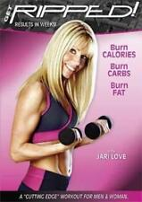 JARI LOVE GET RIPPED 2005 EXERCISE DVD NEW SEALED WEIGHT TRAINING WORKOUT