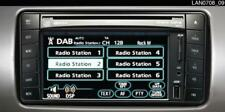 D'origine Toyota Auris & Landcruiser LC3 DAB Radio-pz473-00212-00