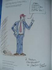 Dédicace BD BALOO - John Doe 1 (une pizza à l'oeil) - Henriet - Delcourt