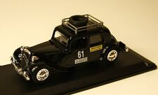 CITROEN TRACTION 11CV 1950 MONTE CARLO RALLYE  - MINIATURE CAR 1/43 -