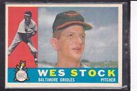 1960  CLINT COURTNEY - Topps Baseball Card # 344 - Washington Senators - Vintage