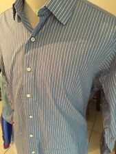 Brooks Brothers Egyptian Cotton Striped Long Sleeve 17-33 Dress Shirt Button Up