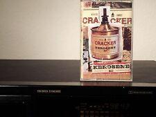 CRACKER Kerosene Hat - Cassette USA 1993 - TESTED! Clear  Shell Tape
