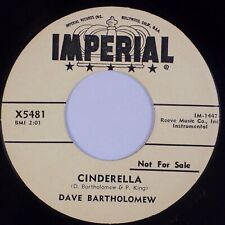 DAVE BARTHOLOMEW: Cinderella / Hard Times IMPERIAL Blues R&B 45 NM Hear