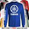 Yamaha Factory Racing T-Shirt Motorcycle Men 80 85 125 250 450 R1 R6 FZR YZ Team