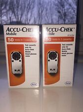 Accu-Chek Mobile 100 ( 2 x 50 Boxes )Tests in 2 Cassettes