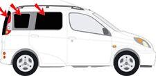 Auto-Sonnenschutz Toyota Yaris Verso 99-05  Scheiben-Tönung Sichtschutz Komplett