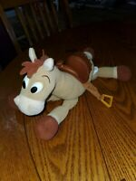 Disney TOY STORY Bullseye Horse Plush  Stuffed Animal Hard Saddle/eyes