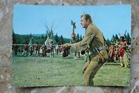 Kino Postkarte AK SCHATZ IM SILBERSEE 1962 Old Shatterhand Lex Barker Karl May +