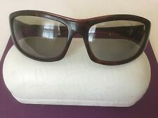Oakley DISOBEY Tortoise Brown Frames Gray Lenses SportSunglasses With Hard Case