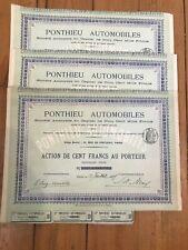 20 x PONTHIEU AUTOMOBILES 1907 for 1€ ?