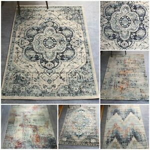 Traditional Living Room Rugs | Modern Transitional Area Rug | Small Large Carpet