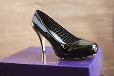 Madden Girl 8.5 Patent Black Platform Pumps Womens Shoes
