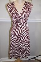 Diane Von Furstenberg Women's Striped Mula Dress size 2 (DR500