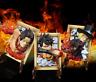 GK One Piece Sabo Luffy Ace Frames Action Figure Fridge Magnet Model Gift Decor