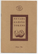 1960s Illustrated Booklet of Nevada Gaming Tokens