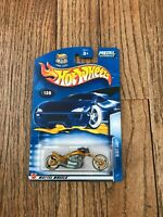NEW Hot Wheels 1:64 #136, 2004 First Editions Blast Lane, Motorcycle