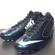 NIKE Mens Vapor Speed Pro 3/4 Football Cleats 668839 024 Green Black Size 14