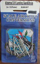 1/32 ALBATROS D.III Landing Gear & Struts.(Metal parts for 1/32 RODEN kit)