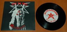 "Witchfynde - Give 'Em Hell - 1979 UK Rondelet Music 7"" Single  Round 1 NWOBHM"