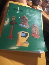 Arcade #1 - Historical Guide To Arcade Machines By R. Bueschel