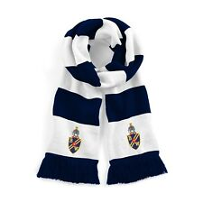 Bolton Wanderers Navy/White Traditional Football Scarf Embroidered Logo