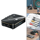 Bluetooth 5.0 Transmitter Receiver TF Long Range Rechargeable Optical for TV