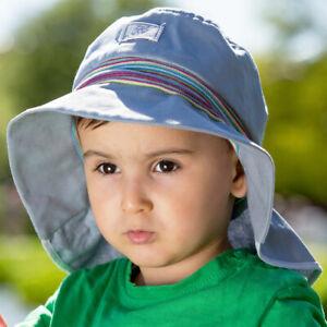 PICKAPOOH Baby/Kinder Sonnenhut Lasse aus Bio-Baumwolle