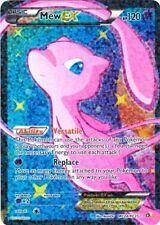 Pokemon Legendary Treasures Mew EX #RC24 Full Art Radiant Collection Card