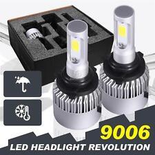9006 HB4 160W 16000LM CREE LED Headlight Kit Light Bulbs 6500K White High Power