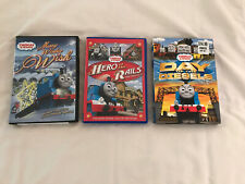 Thomas And Friends Movie Lot: Merry Winter Wish, Hero Of The Rails, Day..Diesels
