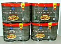 (6 Pack x 4 = 24 Cans - 10oz each) Kroger Premium Chunk Chicken Breast in Water