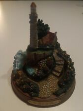 Thomas Kinkade Mini Lighthouse Lights of Inspiration Hamilton Collection Peace