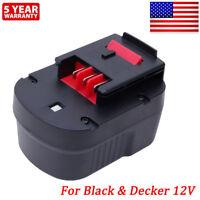 For BLACK+DECKER FSB12 A1712 HPB12 FS120B FS120BX A12 A12-XJ A12EX Firestorm 12V