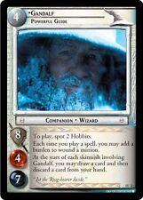 LoTR TCG The Hunters Gandalf, Powerful Guide Masterworks FOIL 15O2